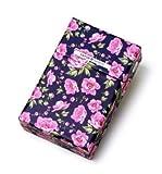 VAPOR ARMOR Floral Design Cigarette Case Box for Women, Regular, 1PACK,