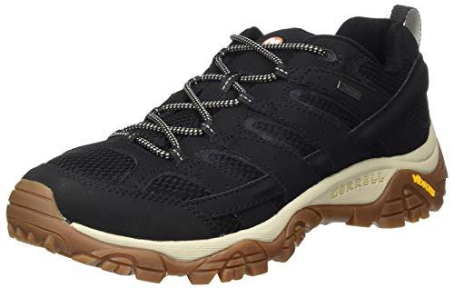 Merrell MOAB 2 GTX, Zapatillas de Senderismo Hombre, Negro/Goma, 45 EU