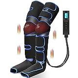 Massaggiatore Gambe, Chugod Pressoterapia per Casa ha 6 Modalità e 3 Intensità, con Controller...