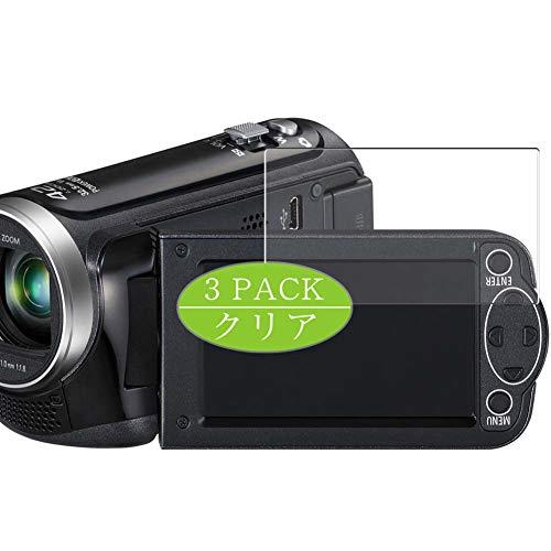 3枚 VacFun フィルム , パナソニック Panasonic HC-V230M 向けの 保護フィルム 液晶保護 フィルム 保護フィルム(非 ガラスフィルム 強化ガラス ガラス ケース カバー ) ニューバージョン