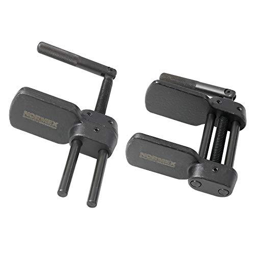 Xinrub 200Pcs M3 Senkkopf Flachkopf Innensechskant Schraube Bolt Machine Fastener Sortiment Set