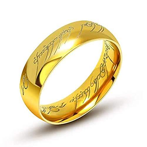 6 mm Anillo volframio Señor de los anillos LORD OF THE RINGS (10)