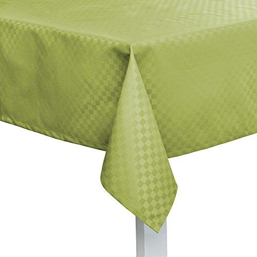 Pichler CASA abwischbare Tischdecke nach Maß Kiwi (oval 130x220cm)