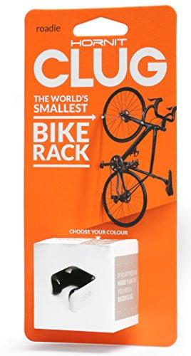 CLUG Bike Clip Indoor Outdoor Roadie Bicycle Rack Storage System White/Black 2332mm