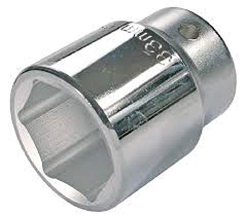 PROXXON Steckschlüssel-Einsatz, 1/2 Zoll, vierkant 17 mm sechskant, 1 Stück,23416