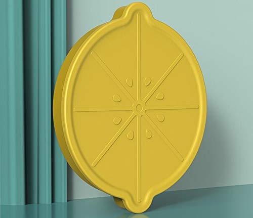 Bandeja de silicona para hielo de limón para hielo, bandeja de hielo creativa de grado alimenticio 26 de silicona para el hogar, refrigerador congelado