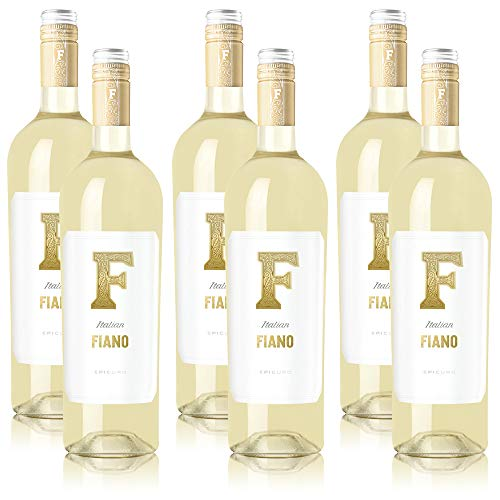 6 Flaschen Epicuro Fiano Puglia IGP Weisswein Italien (6 x 0,75 l)
