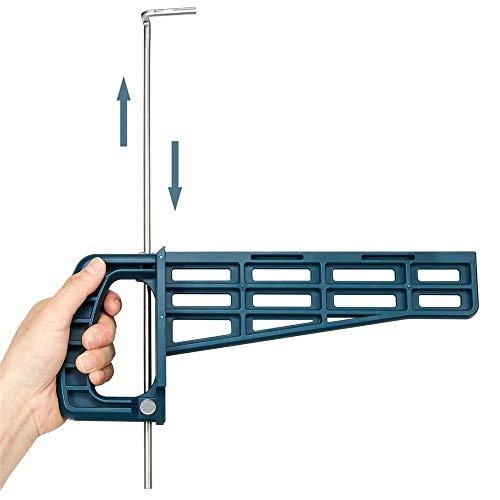 SPRINGHUA Magnética corredera de cajón de la plantilla de montaje Conjunto de herramientas for los muebles del gabinete de extensión Armario de hardware Guía de instalación de la carpintería