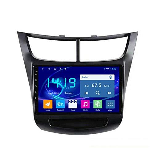 Dscam Car Stereo Android 9.1 Car Radio De Navegación GPS para Chevrolet Sail 2015-2018 9 Pulgada Pantalla LCD Táctil USB WLAN 4.0 Bluetooth Llamadas Manos Libres