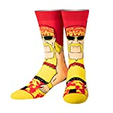 Odd Sox, Unisex, WWE Wrestling, Hulk Hogan, Crew Socks, Crazy Novelty Fun Silly