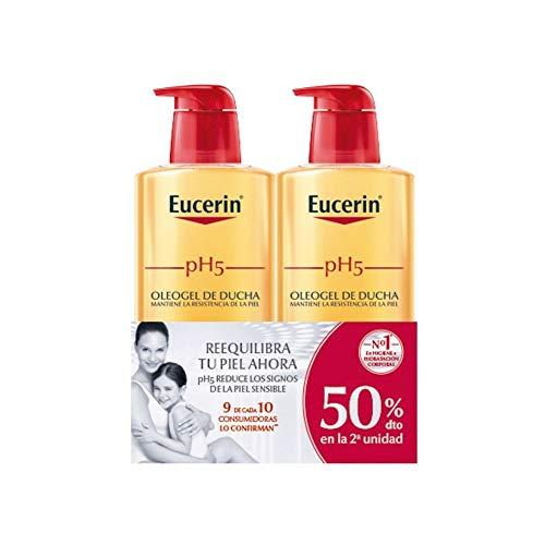 Eucerin Family Pack Ph5 Oleogel de Ducha 1000 ml y oleogel 400 ml
