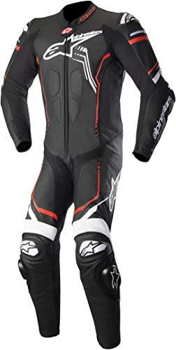 Alpinestars GP Plus V2 - Tuta in pelle, colore: nero/bianco/fluorescente, taglia: 62
