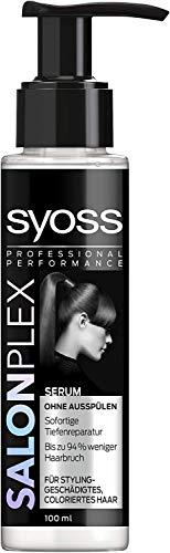 3x Syoss Salonplex Serum sofort Reparatur geschädigtes coloriertes Haar je 100ml