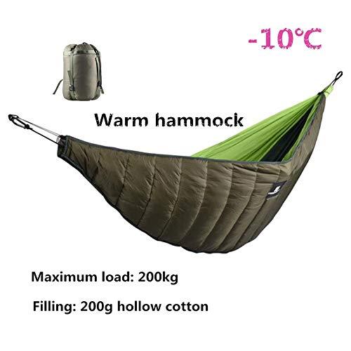 ACHICOO Hängematte Underquilt Sleeping Winter Warm Under Quilt Blanket für Outdoor Camping Outdoor-Produkte