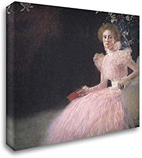 Sonja Knips 20x20 Gallery Wrapped Stretched Canvas Art by Gustav Klimt