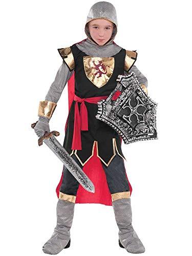 amscan 9904192 - Costume da crociato, per bambini, 10-12 anni