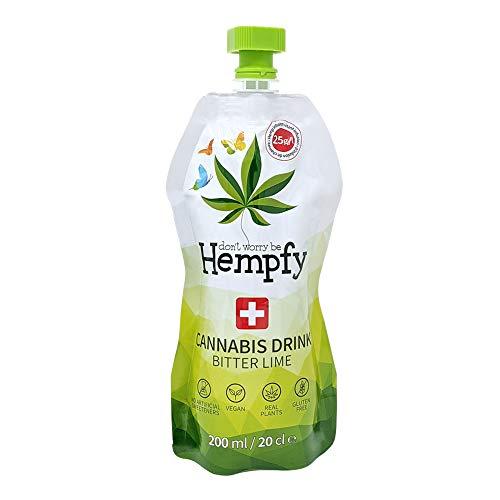 Hempfy Cannabis Drink, 200 ml, Karton à 8 Beutel
