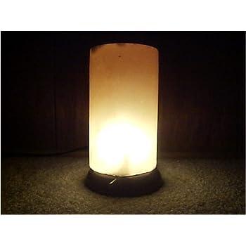 Himalayan Salt Crystal Cylinder Lamp