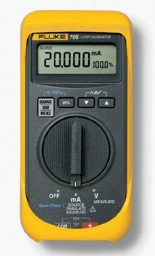 Fluke 705 Direct stock discount Loop Calibrator service 28V Current 0.025 Voltage 24mA perc