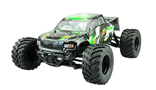 Amewi 22209, AMX Racing EVO 4M 4WD Monster Truck 1:12, meerkleurig