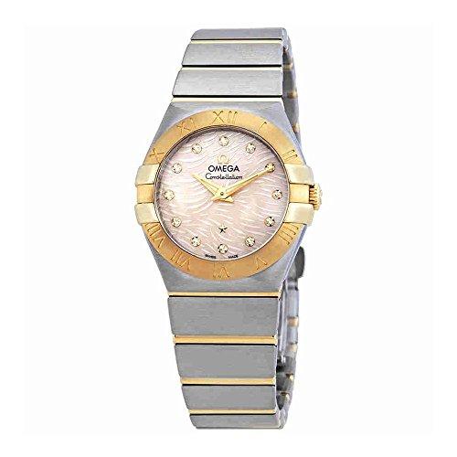Omega Constellation Damen-Armbanduhr 123.20.27.60.57.005