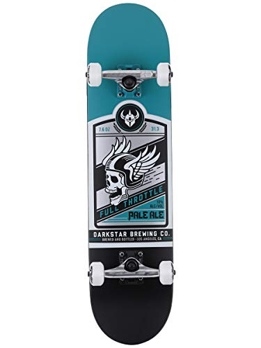 Darkstar Full Throttle FP - Skateboard Completo con Ruote morbide, 80 x 19 x 36 cm