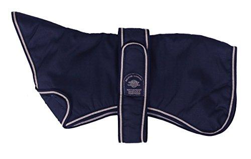 Outhwaite Hundemantel, gepolstert, Marineblau, 35,6 cm, Marineblau