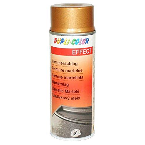 DUPLI-COLOR, Vernice spray, effetto martellato, colore: Oro -400 ml - 467455