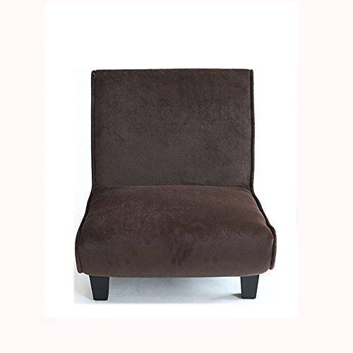 G-Y Canapé Paresseux, Unique Canapé En Tissu Créatif, Élégant Canapé Chambre À Coucher (peut Être Plié) (Couleur : Dark Coffee)