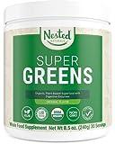 Super Greens | #1 Green Superfood Powder | 100% USDA...