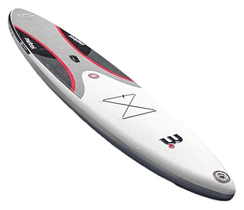 MISTRAL Stand up Paddle Board Inflatable Equipe 12'6 SUP Aufblasbare, Weiß, M