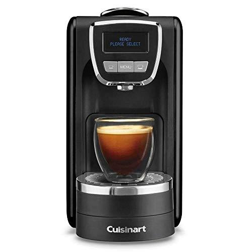 """Cuisinart EM-15 Defined Espresso Machine, 13.5""""(L) x 5.75""""(W) x 9.5""""(H), Black"""