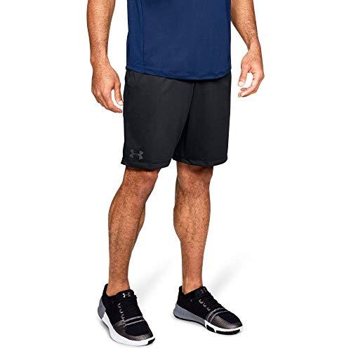 Under Armour MK1 Shorts, Pantaloncini Uomo, Nero (Black/Black/Stealth Gray 001), M