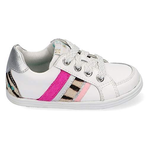 BunniesJR Sandra Stoer - Kinderschoenen Meisjes Maat 23 - Wit - Sneakers