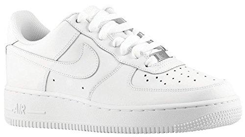 Nike Air Force 1 (GS)., color Blanco, talla 36 EU