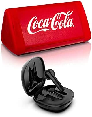 OontZ Angle 3 Bluetooth Speaker Coke Edition and True Wireless Bluetooth 5 0 BudZ Ultra Black product image