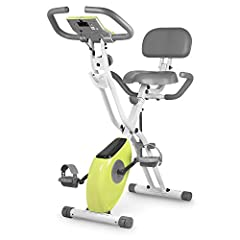 【2-in-1 Frame】This leikefitness spinning bike can be used as an Upright and Recumbent Exercise Bike to maximize your workout and utilize different muscles. 【10 level magnetron resistance】Customize your home exercise bike routine with 10-levels of adj...
