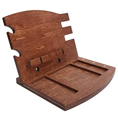 Soporte de almacenamiento de escritorio, diseño sofisticado Mantiene el organizador de gadgets ordenado duradero para la familia para el hogar