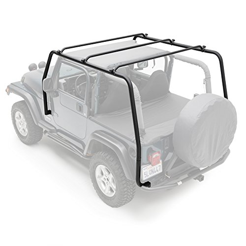 Smittybilt 76713 SRC Roof Rack for 1997-2006 Jeep Wrangler TJ