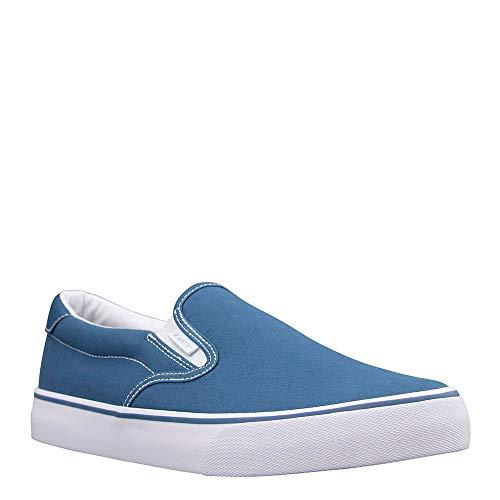 Lugz Tenis Clipper para hombre, azul (Azul/Blanco), 44 EU