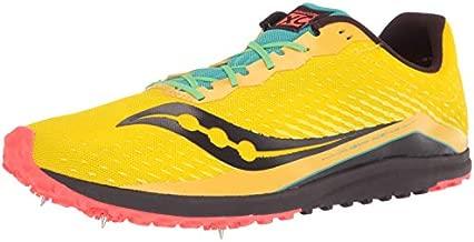 Saucony mens Kilkenny Xc 8 Cross Country Running Shoe, Yellow Mutant, 10.5 US