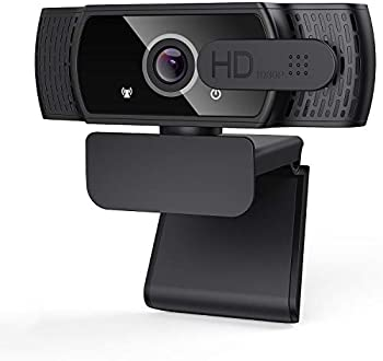 LucaSng 1080P HD Webcam with Privacy Cover & Tripod