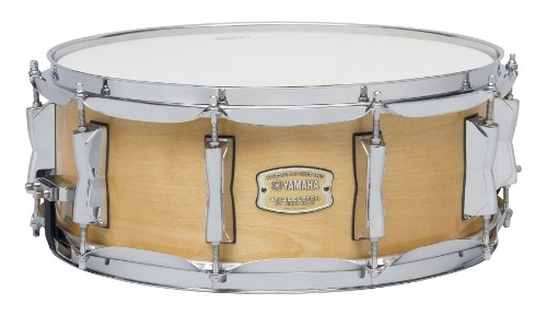 49. Yamaha Stage Custom Birch 14x5.5 Snare Drum, Natural Wood