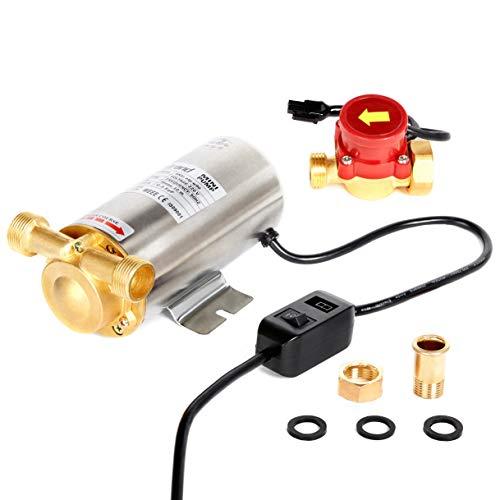 90W Nordstrand Booster - Bomba de agua automática de alta presión para ducha y jardín