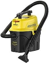 Stanley SL18910P-3 Wet/Dry, 3 Gallon, 3 Horsepower, Portable Car Vacuum, 3.0 HP AC, Black+Yellow