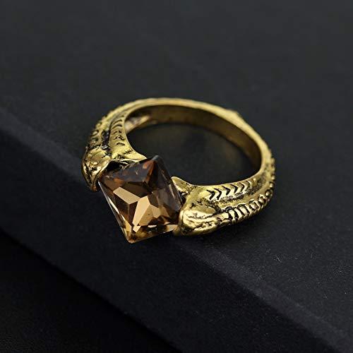 GUANGUA Horcrux Ring die Auferstehung Stein Gaunt Vintage Heiligtümer des Todes Crystal Woman