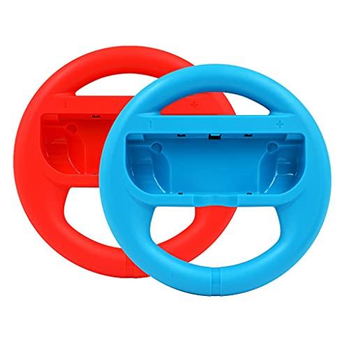 HARZELN 2 unids izquierda y derecha volante controlador mango agarre compatible con interruptor OLED- A