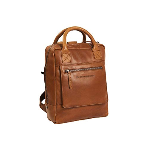 The Chesterfield Brand Davon Laptop Backpack Cognac