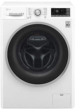 LG F4J7VN1W Lavatrice (Carico frontale 9kg 1400RPM A+++-30%, LCD), Bianco