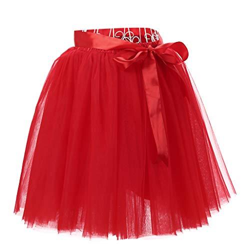 FRAUIT dames plissé tule rok 50er rockabilly petticoat kort rok volwassenen tutu onderrok kort ballet dansjurk